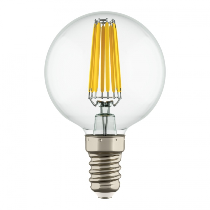 Лампа LED FILAMENT E14 G50 6W 220V 2800K Lightstar 933802